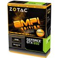 Grafická karta ZOTAC GeForce GTX 650 2GB DDR5 AMP! Edition