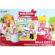 IGRÁČEK & HELLO KITTY - Prodavačka s obchodem a doplňky