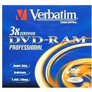 Verbatim DVD-RAM 3x, 1ks v krabičce