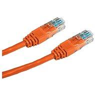Datacom, CAT5E, UTP, 1m, oranžový