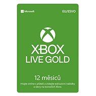 Microsoft Xbox 360 Live 12 Month Gold Membership Card (Digitální kód)