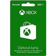 Microsoft Xbox Live Dárková karta v hodnotě 800Kč