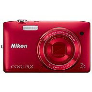 Nikon COOLPIX S3500 Red