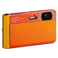 Sony CyberShot DSC-TX30 oranžový