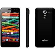 MyPhone Next-S čierny + štyri farebné kryty