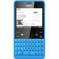 Nokia Asha 210 azurová Dual SIM