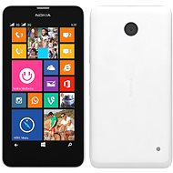 Nokia Lumia 630 White Dual SIM + Black zadný kryt
