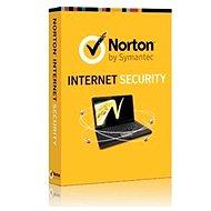 Symantec Norton Internet Security 2014 pro 1 uživatele na 36 měsíců